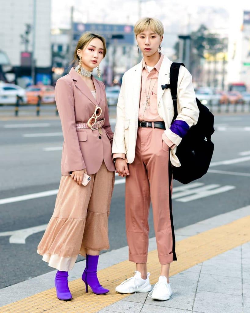 phong cách ăn mặc hàn quốc cho nữ