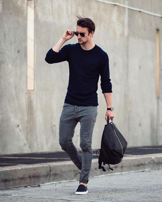 phong cách ăn mặc nam