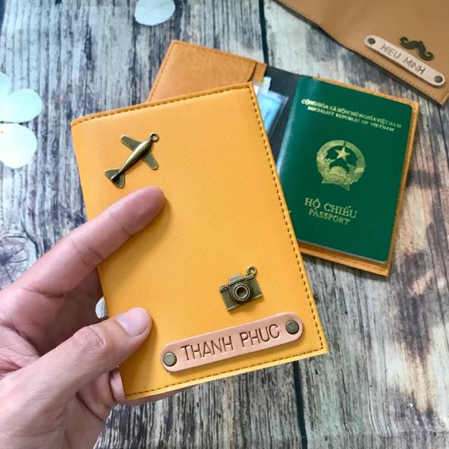 Ví đựng hộ chiếu đẹp Gox