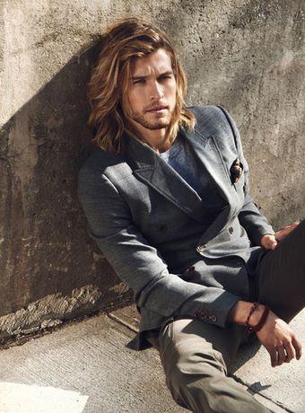tóc nam mặt dài