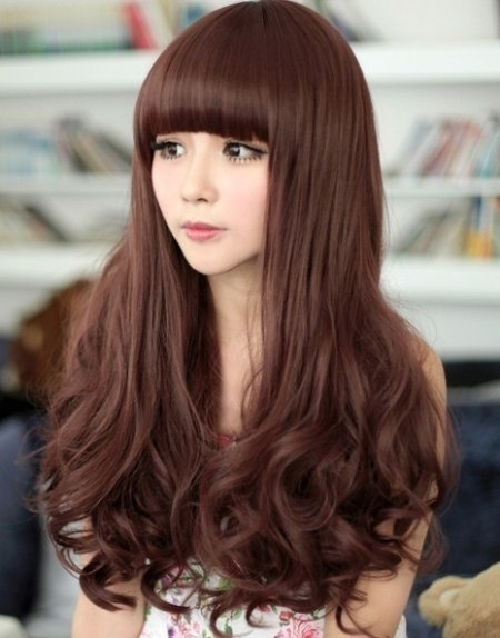 tóc dài cho mặt vuông