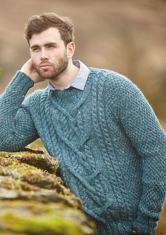 cách phối đồ cho nam giới với áo len