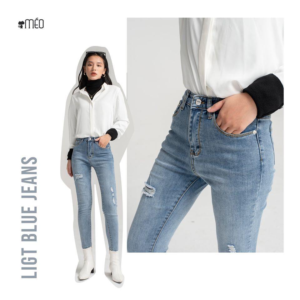 phối đồ mùa đông với quần jean 1